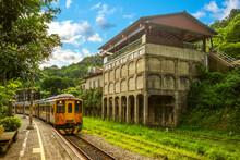 Jingtong Railway In New Taipei City, Taiwan