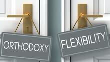 Flexibility Or Orthodoxy As A ...