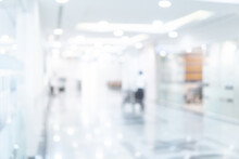 Abstract Blur Luxury Hospital ...
