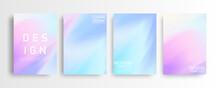 Abstract Mockup Pastel Colorfu...