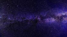 Light Blue Dramatic Galaxy Nig...