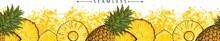 Summer Pineapple Or Ananas Sea...