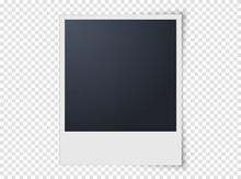 Photo Frame Isolated On Transp...