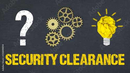 Security clearance Canvas Print