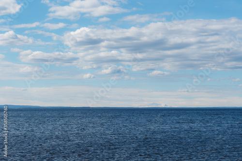 Photo Andersön Island: The blue horizon of Lake Storsjön