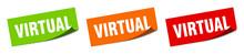 Virtual Sticker. Virtual Squar...