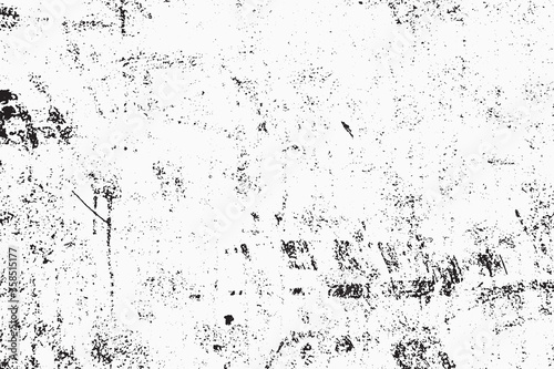 Fototapeta Grunge Texture Vector Illustration. Vintage Retro Template, Weathered Grained Distress Obsolete Crack Effect. obraz