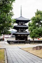 Three Storied Pagoda Of Kofuku...