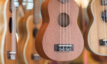 Many Hawaiian Wooden Ukulele G...