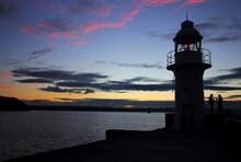 Brixham Lighthouse During Suns...