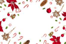Christmas Decoration. Flower O...