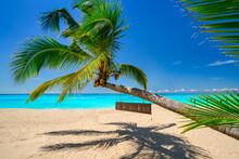 Tropical Beach Of Beautiful Koh Kho Khao Island In Thailand