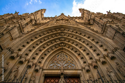 Barcelona cathedral Wallpaper Mural