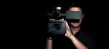 Cameraman Record Movie With Di...