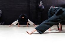 Kajukenbo Instructor With Male...