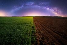 Rural Landscape With Agricultu...