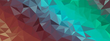 Beautiful Colorful Low Poly Co...