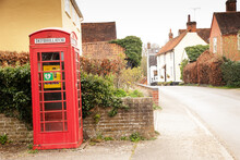 Old Telephone Box Now Reused As A Defibrillator Station