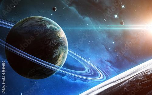 Obraz na plátně High quality science fiction cosmos