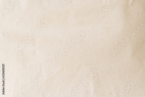 Plain brown eco paper texture in scrap canvas beige backdrop photo concept for letter craft design package box background Fototapeta