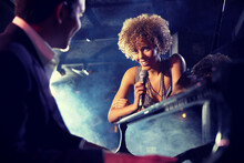 Jazz Singer And Pianist
