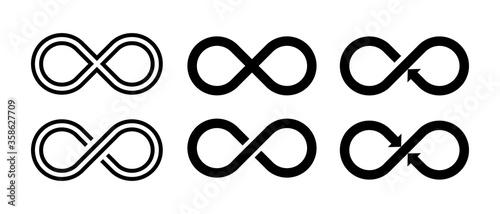 Fotomural Infinity sumbol