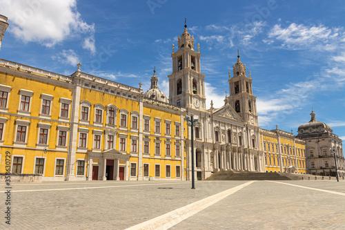 Palácio Nacional de Mafra, Convento e Basílica de Portugal Canvas Print