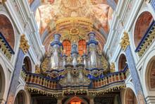 Święta Lipka-barokowe Organy