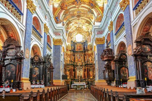 Fotografía Święta Lipka-ołtarz główny