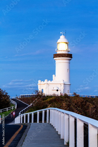 Fotografering Byron Bay lighthouse, New South Wales, Australia