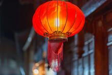 China, Yunnan Sheng, Lijiang Shi, Altstadt Von Lijang, Chinesische Lampen