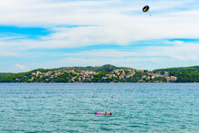 It's Nature Of Croatia, Mountains And Adriatic Sea