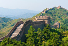 The Great Wall Of China In Jin...