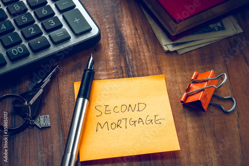 second mortgage word on note #358650117