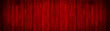 Leinwanddruck Bild - Red dirty weathered painted red wooden texture - Wood abstract background panorama banner long