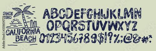 Tela HandMade  Surfing Summer Font(Typeface)