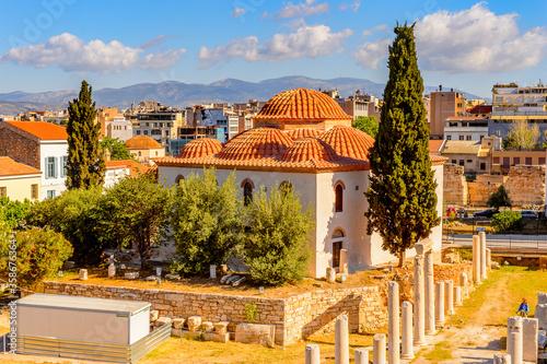 Photo It's Roman forum, Agora of Athens, Greece
