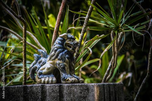 """Obraz 沖縄の守神""""シーサー""""_09 - fototapety do salonu"""