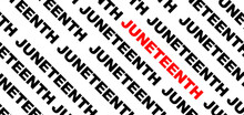 Juneteenth Black And Yellow Ba...