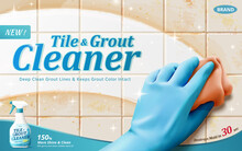 Tile And Grout Cleaner Ad Temp...