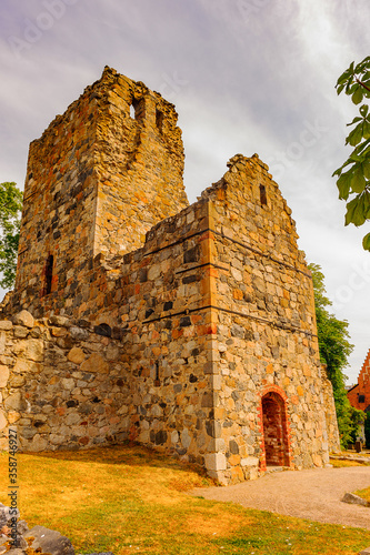 Church of Saint Olof in Sigtuna, Sweden фототапет