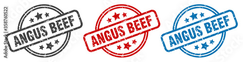 Fotografía angus beef stamp