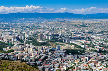 It's Panoramic View Of Tbilisi...