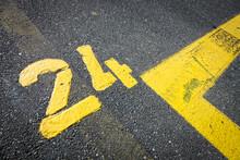 Number Twenty-four Yellow Pain...
