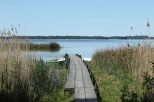 Lake Kölpinsee, Mecklenburg Lake District, Mecklenburg-Vorpommern, Germany