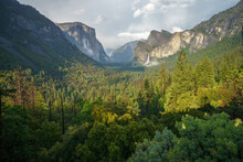 Sunset At The Tunnel View In Y...