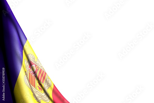 Photo beautiful national holiday flag 3d illustration