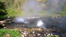 Pong Dueat Hot Spring In Chian...