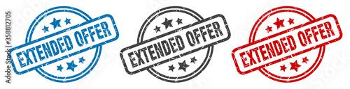 extended offer stamp Fototapet