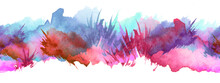 Seamless Watercolor Pattern. P...